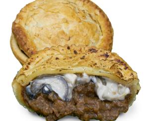 Frozen Oyster & Beef Pie